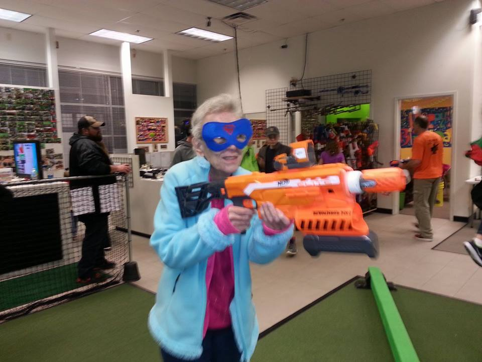 Nurf Wars are fun in Warrenton Missouri